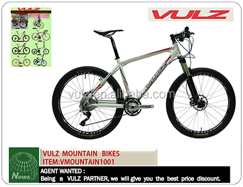 VULZ MOUNTAIN BIKES 27speed mountain bike with Disc Brake aluminum 6061 alloy 7005 21 speed bicicleta mountain bike 26 inch wh