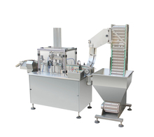 Desiccant Silico gel spring cap filling sealing assembly Machine