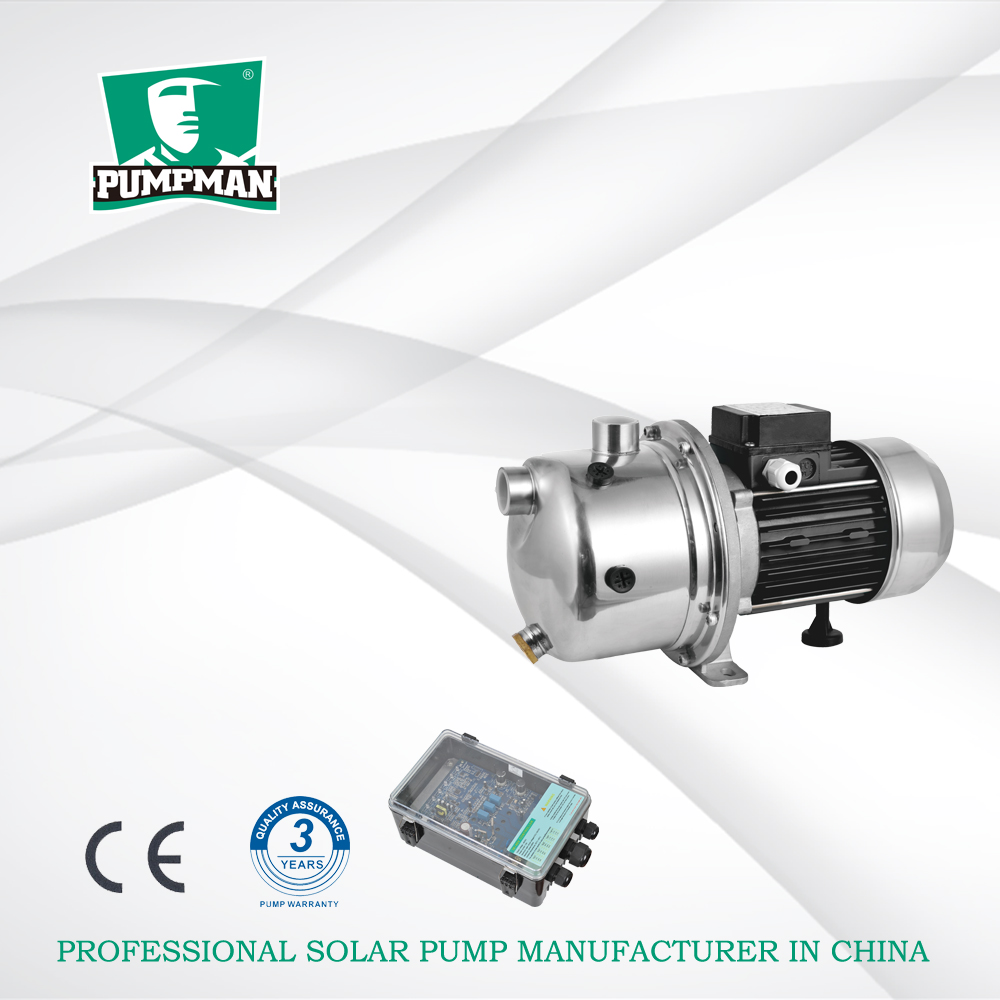 Pumpman TSSGJ 24V dc motor solar surface water pump