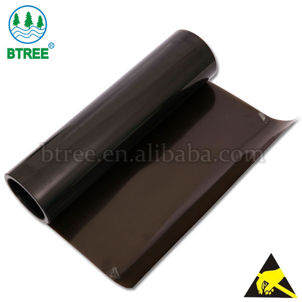 Btree Anti-static APET Plastic Sheet For Anti-static Tray