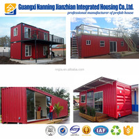 Economic villa modular house prefab home prefabricated house luxury container house