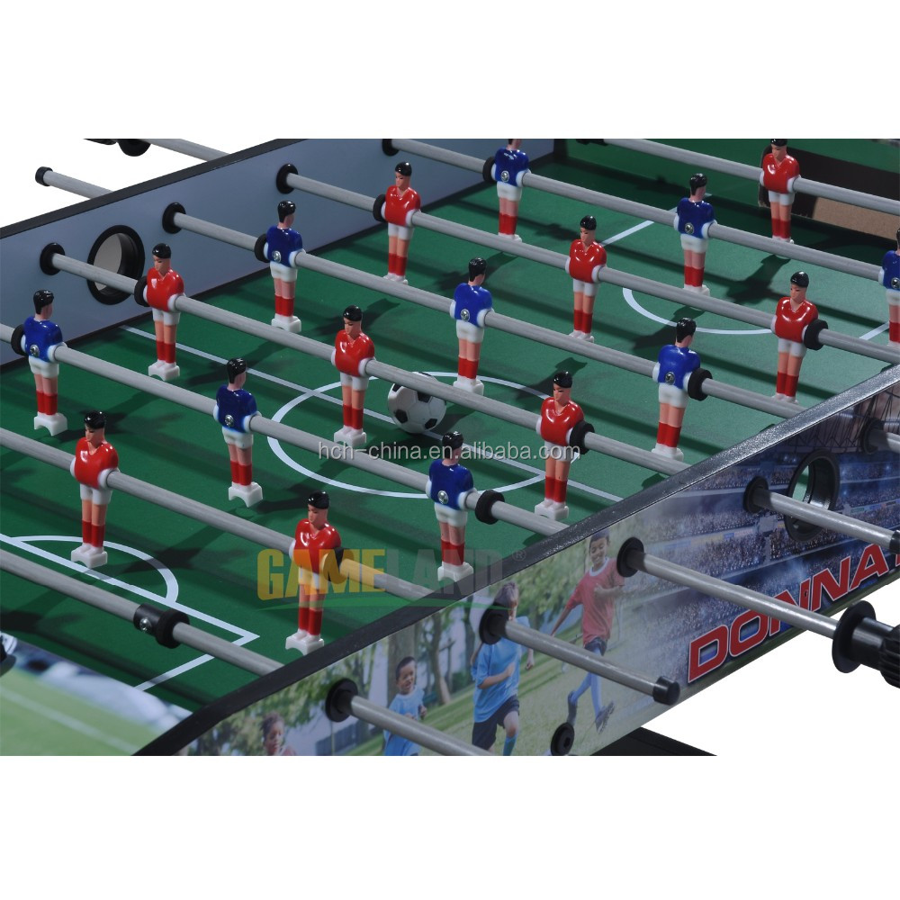MDF Hand Soccer Table Game Foosball Table With Long Legs Soccer Game Table