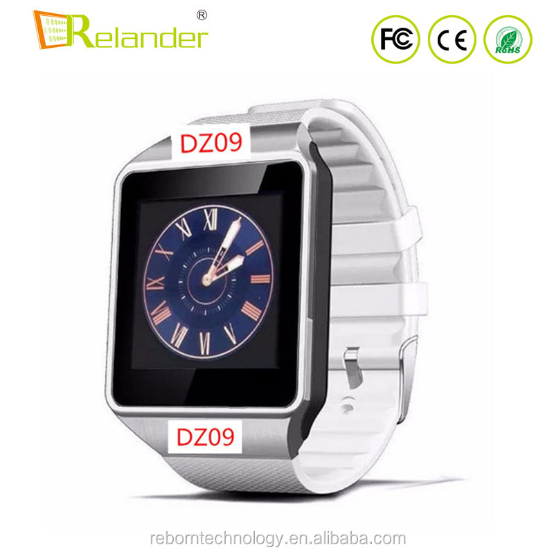 <strong>Hot</strong>!!! Factory Cheap Android DZ09 Smart Watch DZ09 With Sim Card VS GT08 Smart Watch