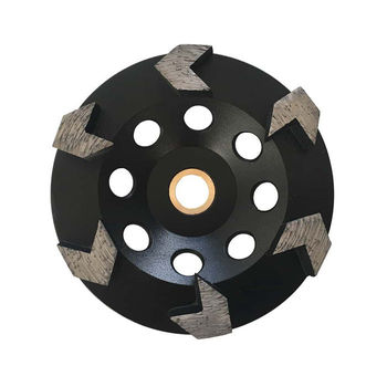 5 inch 125mm Stone Concrete Diamond Grinding Cup Wheel for Angle Grinder