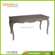 new design french style wooden antique dining room furniture