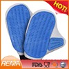 RENJIA silicone Grooming brush silicone Massage glove silicone Pet Grooming glove