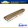 CALIBRE Motorcycle Orange 420 pitch 130L Motorcycle Colored Chains Drive Chain