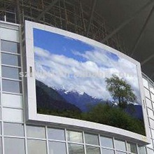 hot/new products high resolution p10 vedio wall arc led display