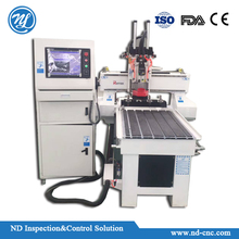 used key small cnc wood cutting and carving machine for sales NDG6090