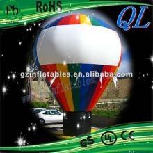 2012(QiLing) amusing inflatable colorful balloon
