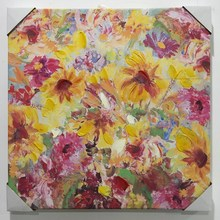 New producing wall decorative handpainted oil paintings of flowers