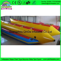 Hot Inflatable Toy For Water Park Inflatable Banana Boat Fly Fish For Sale