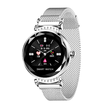 <strong>Smart</strong> Bracelet Women 3D Diamond Glass Heart Rate Blood Pressure H2 <strong>Smart</strong> <strong>Watch</strong> For Lady 2019