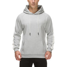 New high quality custom your own brand gym hoodie/pullover sweater/sweatshirt men