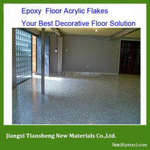 Epoxy Floor Paint decorative color chip flakes