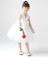 Elegant High Quality Bulk Chinese Girl Traditional Lace Kids Party Wedding Children Dress