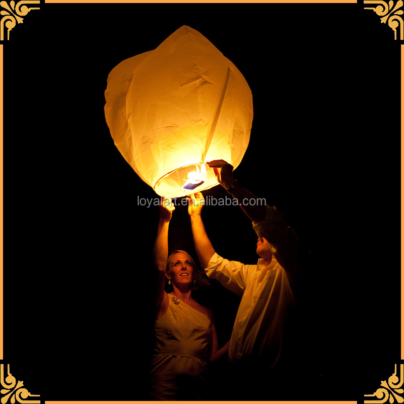Wholesales China Factory Cheap Price High Quality Wishing Sky Lantern