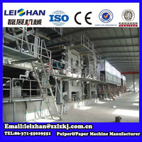 High quality machine used newspaper machine for sale