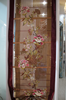 red butterfly rose patterns embroidery roman curtain