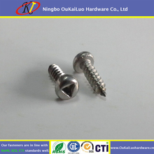 Stainless steel pan head triangle screw