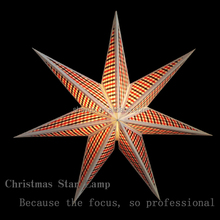 TC buiter paper color Angle of seven star Christmas decorations