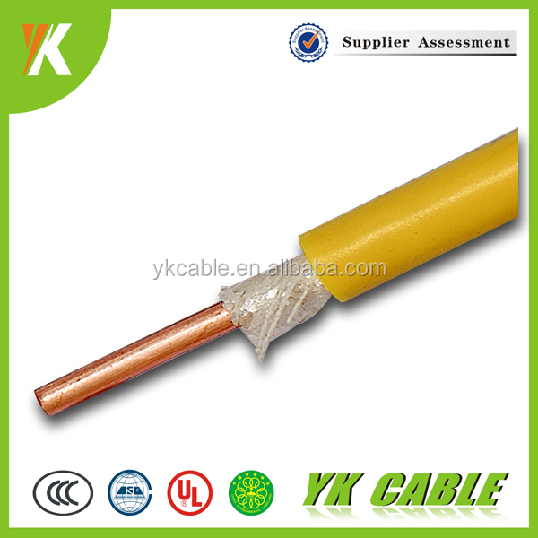 Heat resistant PVC insulated 6mm 4mm 2.5mm single core cable