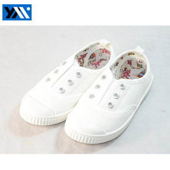 new style cheap white canvas shoes for girls