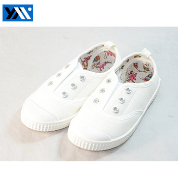 new style cheap white canvas shoes