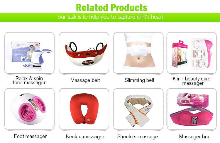 New Design Extension Handle Electric Full Body Weight Lose Vibration Massage Machine
