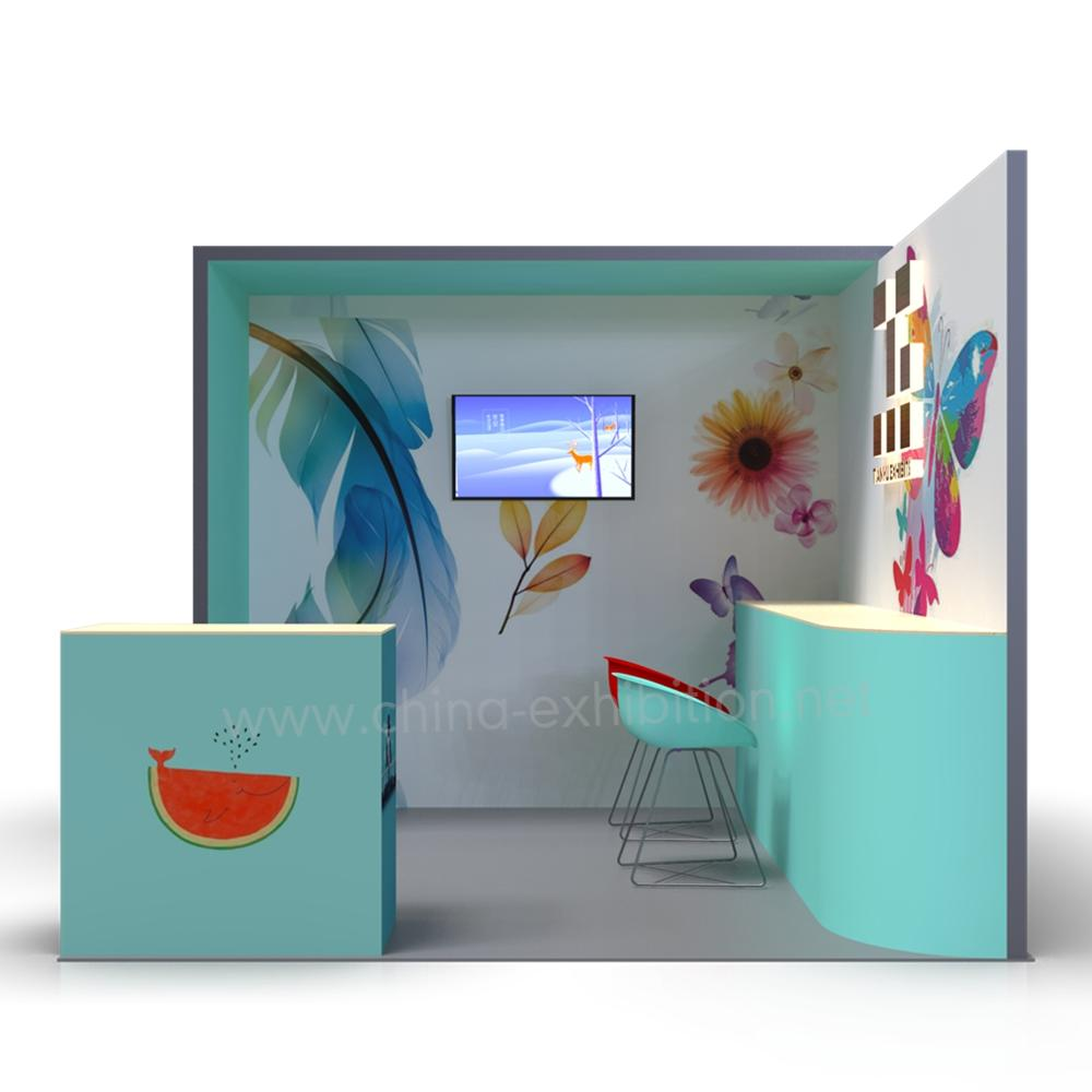 Exhibition Stand 3d Model : High quality exhibition stand 3d models made in china buy