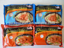 TWO EAT METHODS NOODLE EITHER DRY OR BOILED