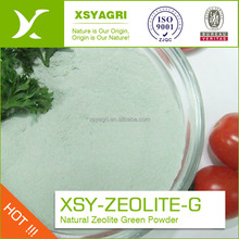 Natural zeolite green powder clinoptilolite raw material for water purify treatment