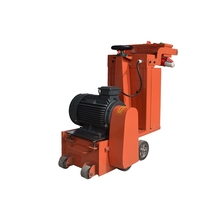 Hand pushed electric motor concrete chipping concrete scarifying machine