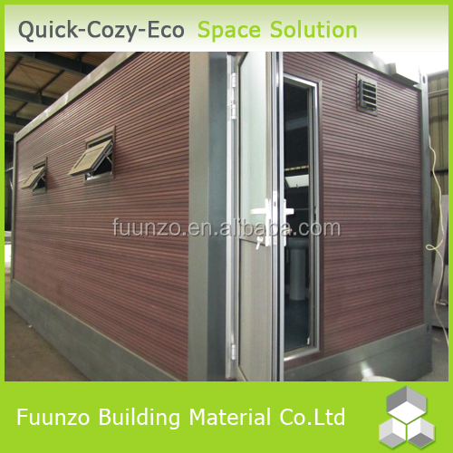 Fire Insulation Plastic Timber Cladding Portable Pvc Window Toilet
