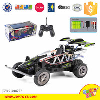 New 1:20 4CH rc car with 3D lights and voice charge and battery remote control car toy for kids