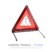 For Emergency Use Vehicle Warning Triangle