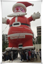 Giant outdoor 25ft christmas inflatable santa decoration, inflatable christmas santa claus