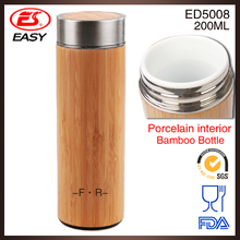 New design excellent ceramic bamboo cover mugs, ceramic bamboo cover tumbler with engraved logo