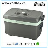 Beila Wheeled Ice Box with Electronic ,Can Use As Mini Fridge for Car