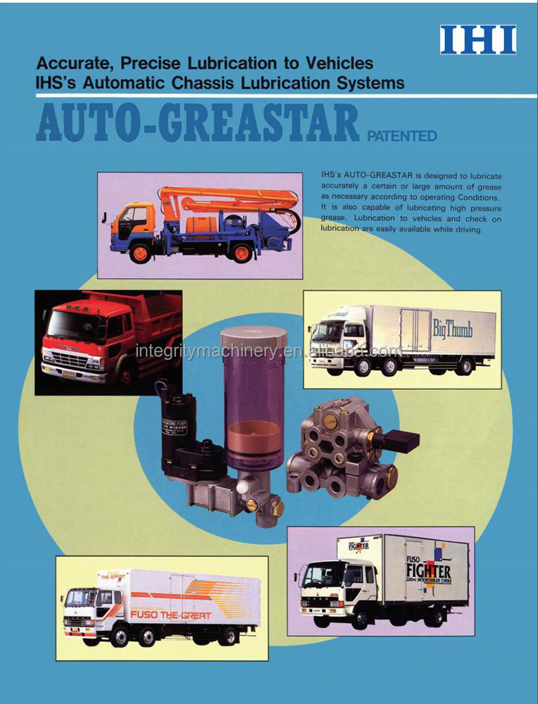 IHI Auto Greastar motor driven chassis lubrication system