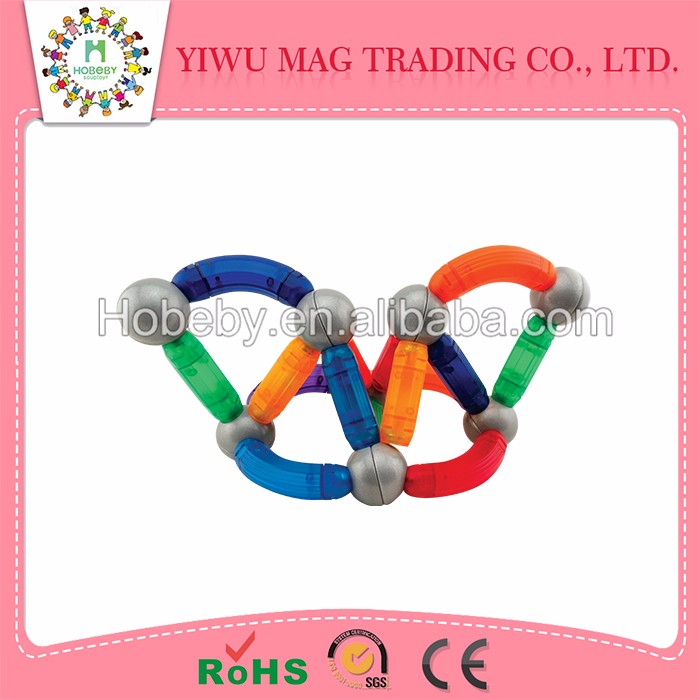 Alibaba china supplier Top Educational wooden stick toy and magnetic connect toys for children
