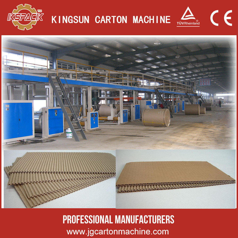 Add to Favorites 3 & 5 Ply Automatic Paper Corrugated Board Plant