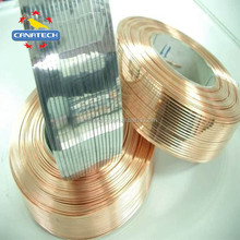Customized 16# 17# 18# 20# copper coated galvanized rolled flat Wire