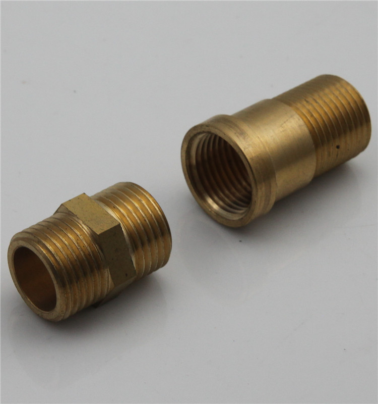 G1/2 male and female threaded connector brass pipe fittings