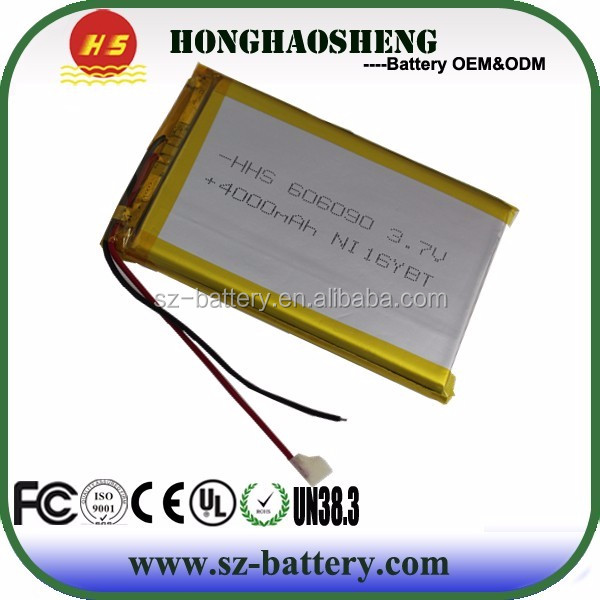 7 inch Tablet PC Ainol Aurora battery cell 606090 polymer battery