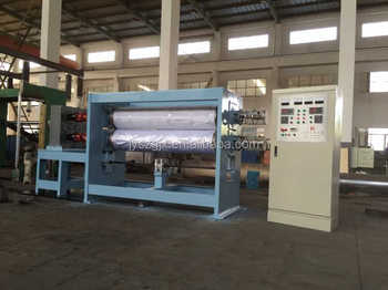 china fine and new shirt fabric calendering machine
