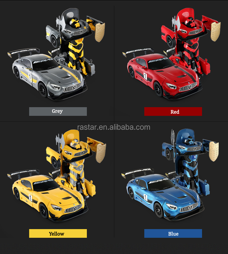 Rastar gift toy for kids dancing and fight transform remote control robot electric car