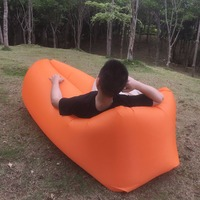 Summer Most Popular Inflatable Sleeping Bag Lazy Laybag Lounger For Beach Sofa