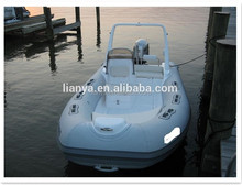 Liya fiberglass hard bottom dinghy 17feet outobard marine inflatable oem boat