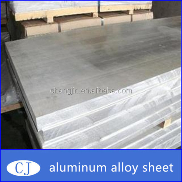 thin stamped flat sheet aluminum 6063 with hot rolling
